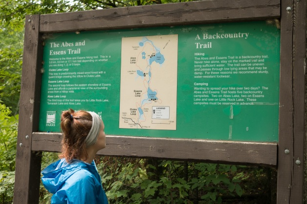 A 10k hike along the Abes and Essens trail