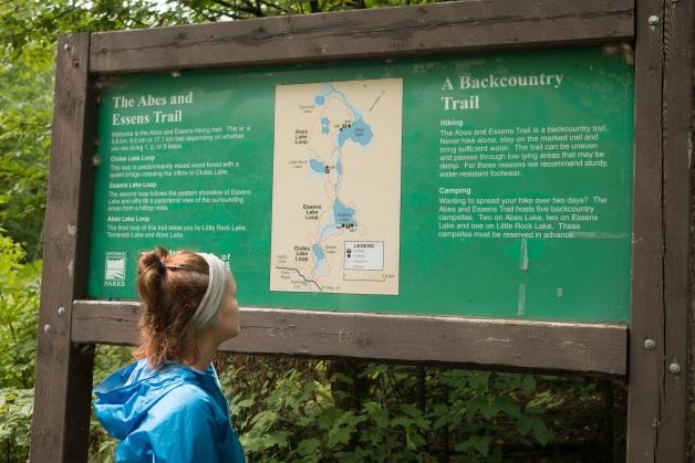 A 10k hike along the Abes and Essens trail