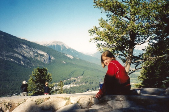 On top of Tunnel Mountain, Banff