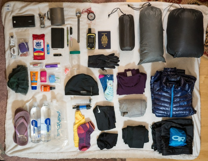 My Pacific Crest Trail 2017 Gear List